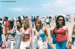 Campeonato de Surf em Imbituba no Estado de Santa Catarina