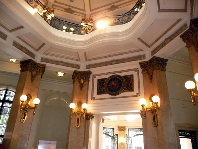 Interior do Centro Cultural Banco do Brasil, em São Paulo