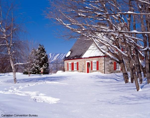 Inverno no campo, Canadá