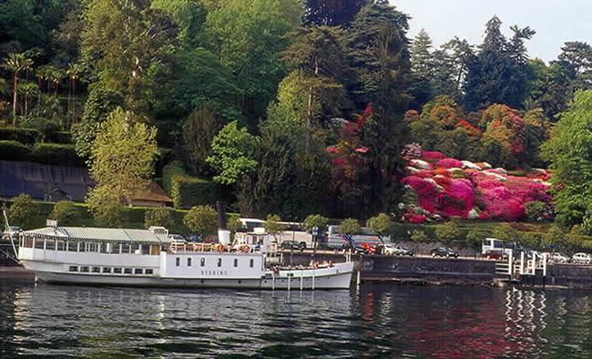 Isolla Bella, Lago Maggiore, Lombardia, norte da Itália