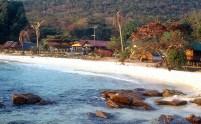 Praia em Koh Samed, Tailândia