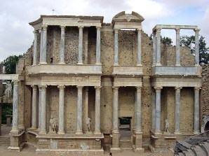 Mérida, teatro romano, Extremadura, Espanha