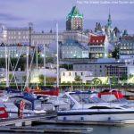 Marina em Québec, Canadá