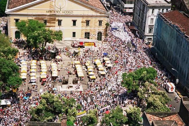 Mercado Modelo, de Salvador, uma atração turística da cidade
