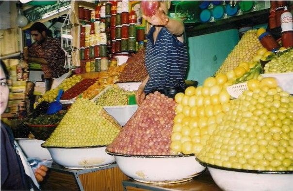 Mercado em Marrakech