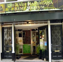 Museu do hashishe e da marijuana em Amsterdã