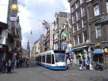 Bondes de Amsterdã, super práticos