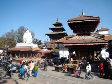 Os templos de Katmandu, Nepal