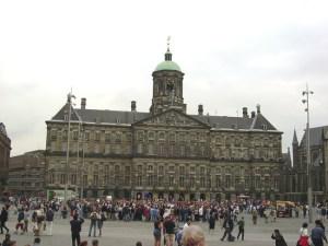 Palácio Real em Amsterdã