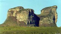 Pedra do Camelo, em Palmeiras, na Chapada Diamantina