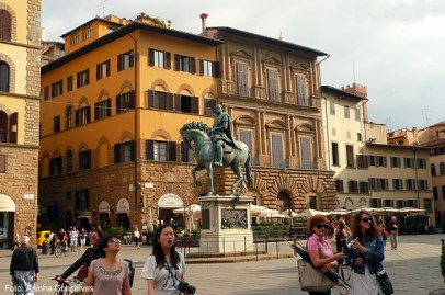 Piazza della Signoria, em Florença