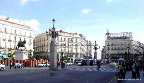 Plaza Sol, Madri