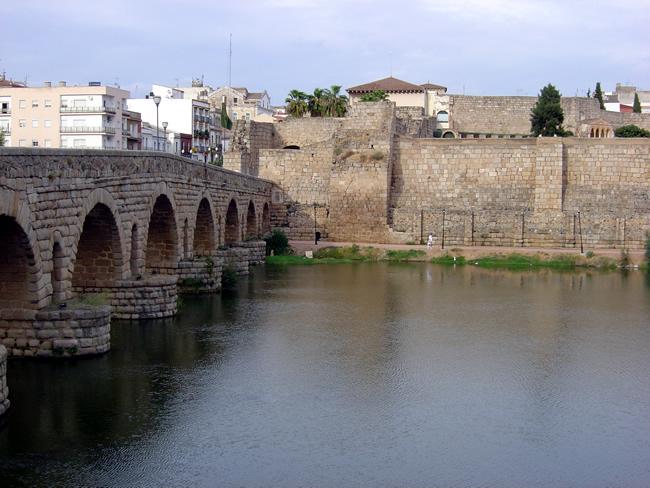 Ponte romana em Mérida, Espanha