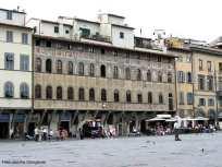 Praça em Florença, Itália