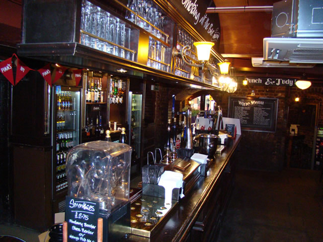 Pub em Londres, Inglaterra