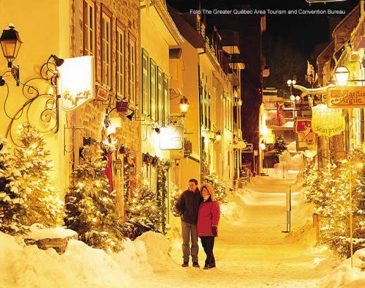 Québec sob a neve, Canadá