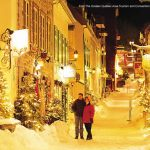 Québec sob a neve, inverno no Canadá