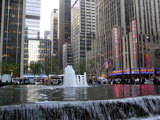 Radio City, Manhattan, New York, foto Barão