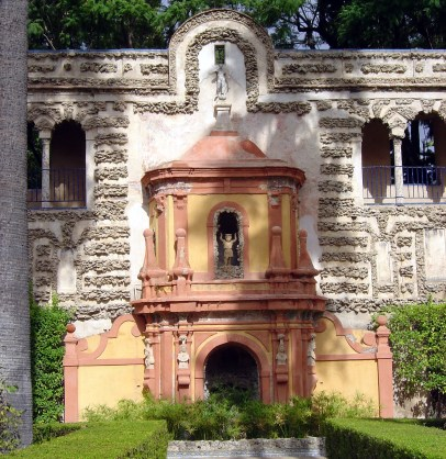 Real Alcázer de Sevilha, detalhe