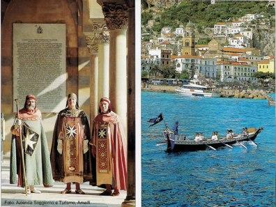 Regata- storica, Amalfi, italia