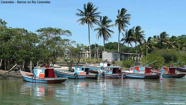 Rio Caravelas, na Bahia