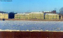 Rio Volga congelado, Moscou, Rússia, foto Chico Spagnuolo