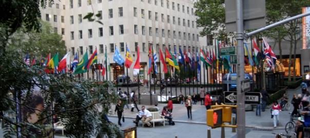 Rockefeller Center em Manhattan