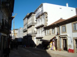 Rua de Valença do Minho, Portugal