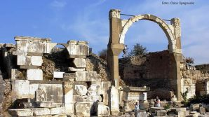Ruinas romanas na Turquia