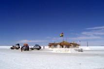 Hotel de sal, no Salar de Uyuni, Bolívia