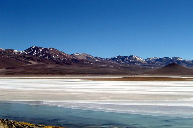Salar de Uyuni, Bolívia, o deserto de sal