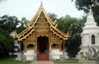 Santuário budista em Chiang Mai, Tailândia