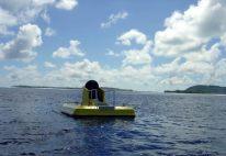 Submarino com cabine de vidro em Bora Bora, Tahiti