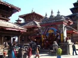 Templo de Kali em Katmandu