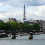 Tour Eifffel visa do Sena