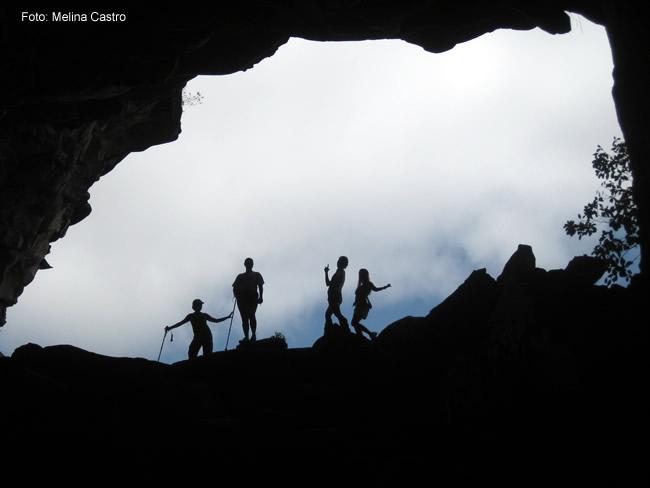 Uma caverna na Chapada Diamantina