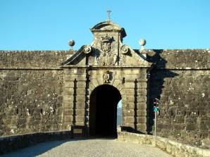 Uma das portas de Valença do Minho, Portugal