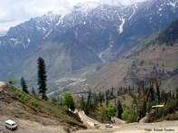 Uma estrada perigosa, norte da Índia