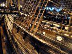Vasa, que afundou no porto de Estocolmo, recuperado e transformado em museu