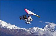 Powerparaglider, Pokhara, Nepal