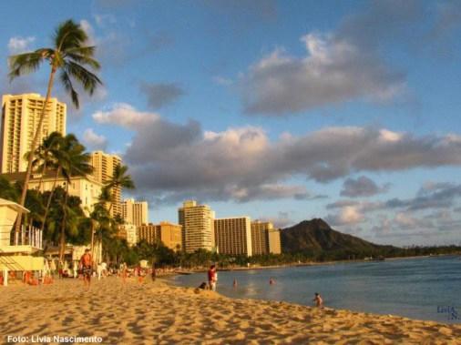 Waikiki, no Havaí, US