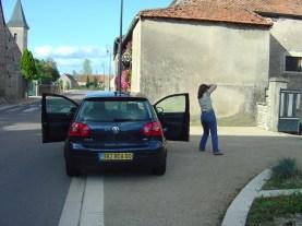 França, Borgonha, viajar de carro facilita para quem gosta de fotografar