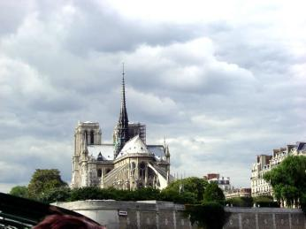 Catedral de Notre-Dame, em Paris, França