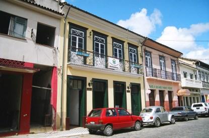 rua em Bananal SP