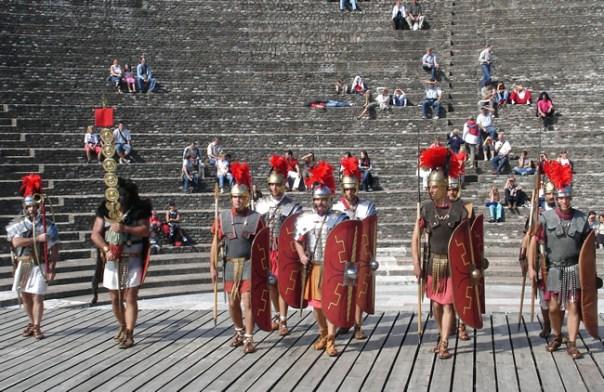 Afiteatro romano de Lyon, França