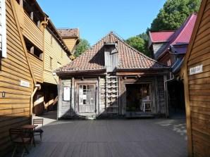 Bergen, bairro histórico, Noruega