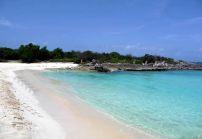 Praia de Cay Bay, San Martin, Caribe