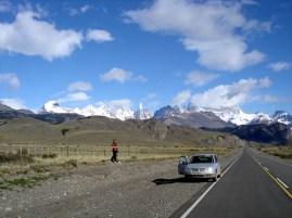 Região de El Chaltén, na Argentina