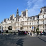 Hotel de Ville (prefeitura) de Paris, França