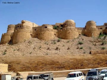 Muralhas de Jaisalmer, Índia